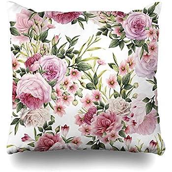 Amazon.com: Funda de almohada decorativa Ahawoso con diseño ...