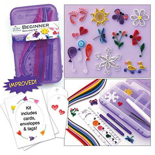 Beginner Quill Quilling Kit Paper Tools All You Need by Quill Creations