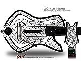 Diamond Plate Metal Decal Style Skin - fits Warriors Of Rock Guitar Hero Guitar (GUITAR NOT INCLUDED)