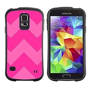 LASTONE PHONE CASE / Suave Silicona Caso Carcasa de Caucho Funda para Samsung Galaxy S5 SM-G900 / Pink Purple Pattern Text Summer