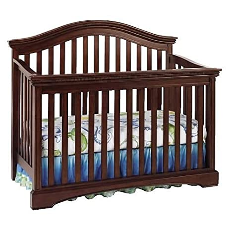 Amazon.com : Truly Scrumptious Crib Full Size Conversion Kit Bed Rails    Rustic Cherry : Baby
