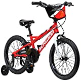 Schwinn Koen Boy's Bike with SmartStart, 18' Wheels, Red