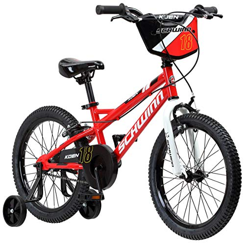 "Schwinn Koen Boy's Bike with SmartStart, 18"" Wheels, Red"