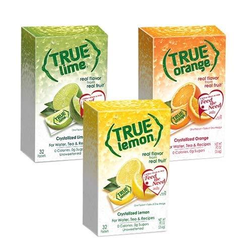 - True Lemon Kit Lemon,Orange,Lime 32ct each