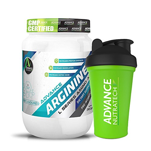 Arginine Aminos Pre-workout 240 Capsules With Free Shaker by ADVANCE NUTRATECH