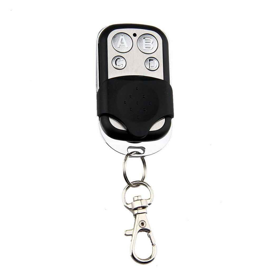 Stevlogs 4-Channel Wireless RF Remote Control 433 MHz Electric Gate Door Remote Control Key Fob Controller