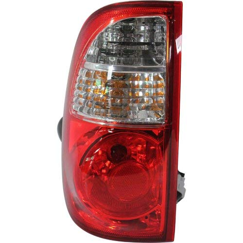 Tail Light for TOYOTA TUNDRA 2005-2006 LH Assembly Clear/Red Lens with Standard Bed Regular and Access Cab