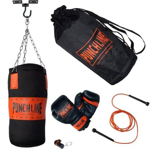 Nero//Arancione Punch Line bambini Junior Boxset 50/X 25