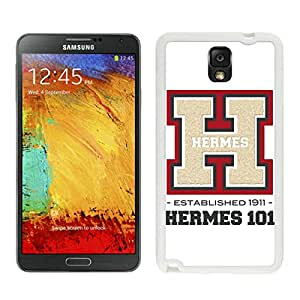 Fashion Designed Cover Case For Samsung Galaxy Note 3 N900A N900V N900P N900T With Hermes 23 White Phone Case