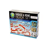 bulk buys 30 Piece Garage and Home Assorted Hook Set