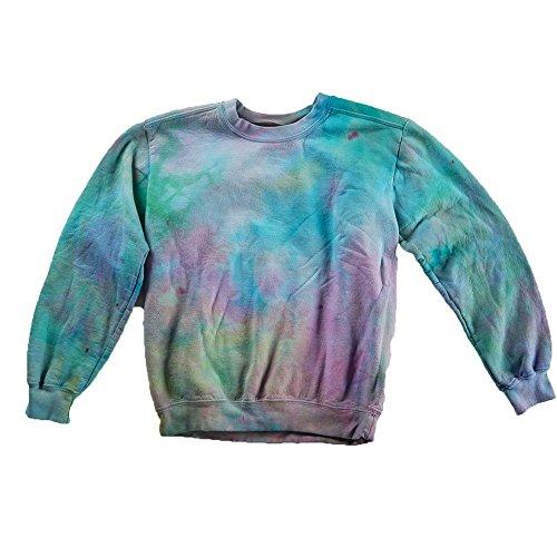 Pastel Tie Dye Sweatshirt Unisex Festival Hoodie Grateful dead Plus Size S, M, L, XL, XXL by Masha Apparel