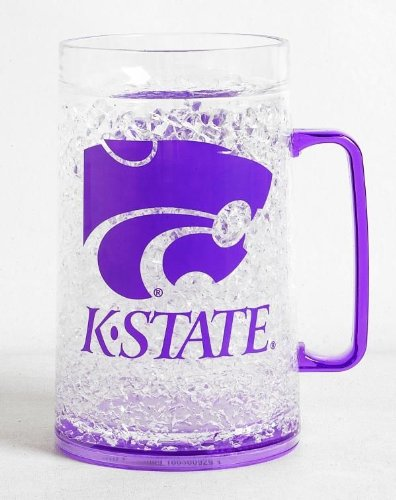 Kansas State Wildcats Crystal Freezer Mug Monster Size Combines State-Of-The-Art Refreezability