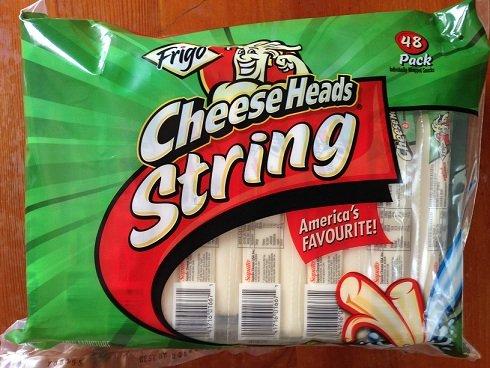 (Frigo Cheese Heads String Cheese (1 oz. pkg, 48 ct.))