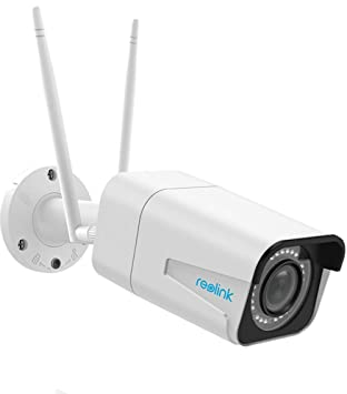 Reolink RLC-511W 5MP Outdoor Security Camera, 4X Optical Zoom Wireless Home  Security Camera, IP66 Waterproof Night Vision Surveillance System with