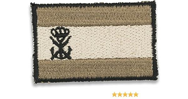 Bandera bordada España Gris Con Logo Infantería de Marina 09765: Amazon.es: Ropa y accesorios