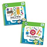 LeapFrog LeapStart Level 2 Pre-Kindergarten Activity Book Bundle with Read and Write, Pre-K STEM