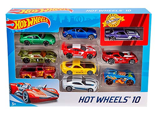 Hot Wheels 10-Pack (Styles May Vary) [Amazon Exclusive] (Fast And Furious Orange Supra For Sale)