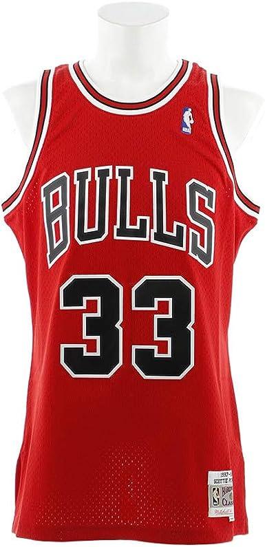 Mitchell & Ness Men's Scottie Pippen Chicago Bulls NBA Throwback Jersey
