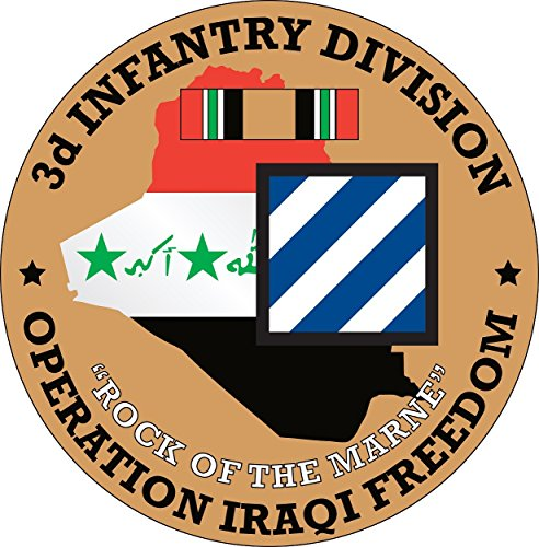 Military Productions 3rd Infantry Division Operation Iraqi Freedom Decal