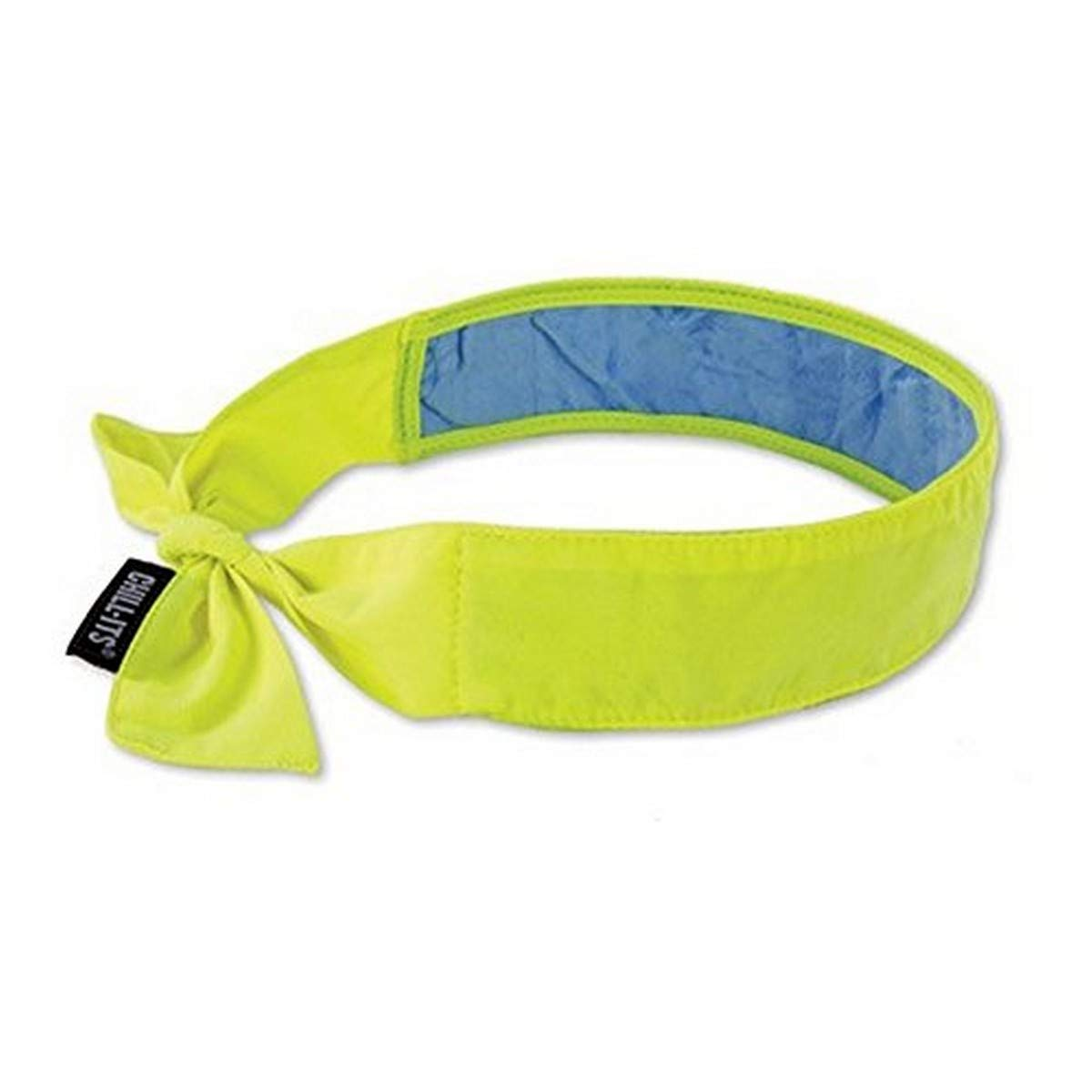 Ergodyne 12566 Chill-Its Evaporative Cooling Bandana, Standard, Hi/Vis Lime