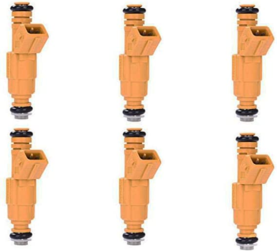 6PCS Fuel Injector 0280155700 for 1987-1995 Jeep Cherokee 4.0L Ford Explorer 4.9
