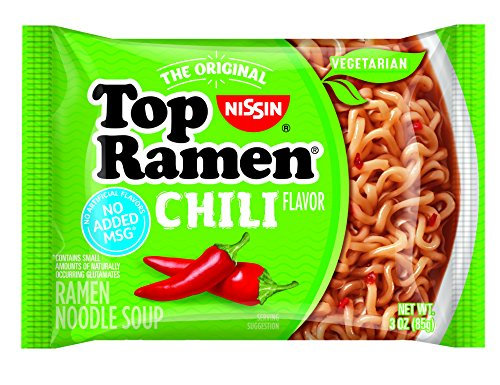 (Nissin Top Ramen, Chili, 3 Ounce (Pack of 24))
