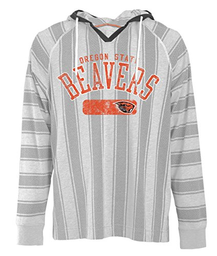 Oregon State Beavers Jersey - NCAA Oregon State Beavers Men's Long Sleeved Pullover Hoodie, Small, Charcoal Oxford