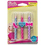 Barbie Birthday Cake Candles - 6 pcs