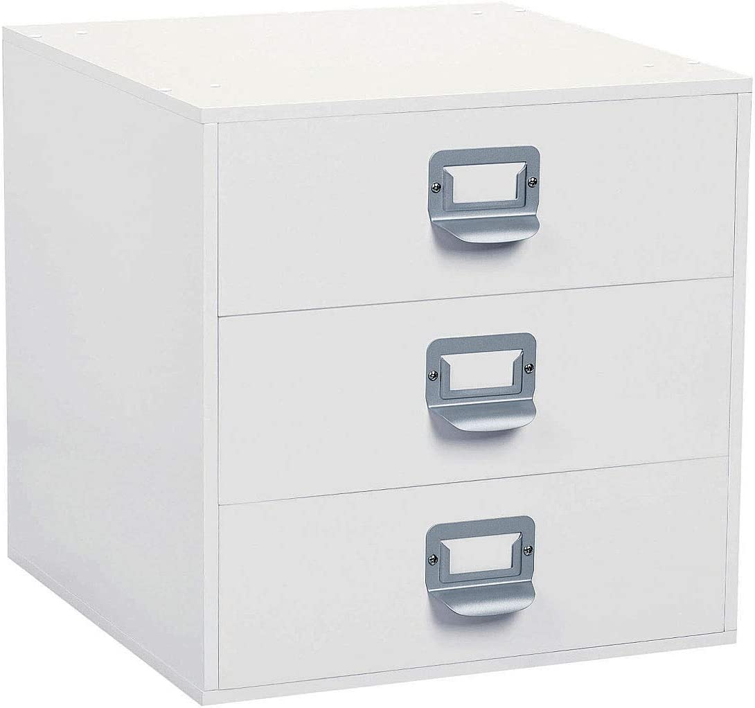 Amazon Com Drawers Organizer Storage Cube By Ashland White
