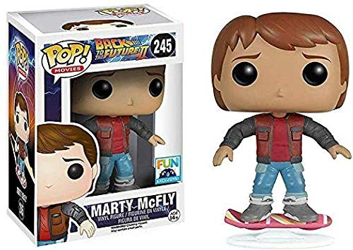 WENJZJ Pop! Regreso al Futuro Figura # 245 Figura Coleccionable de Marty Mc