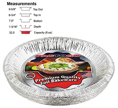 10 aluminum pie pans - 7