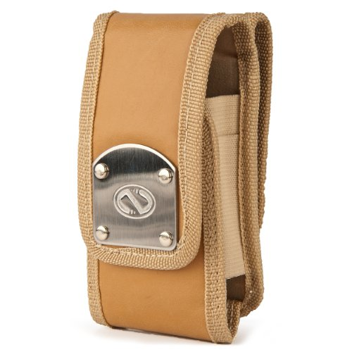 (Nubuck Beige) NZ Gladiator XL Series Durable Holster Carrying Case w/ 2 Swivel Belt Clips for Samsung Galaxy S 4 / S IV Android Smart phone by Nazteck