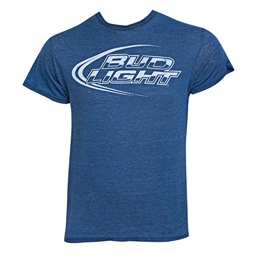Men's Bud Light T-Shirt,Large,blue,Large,Blue Bud Light T-shirt