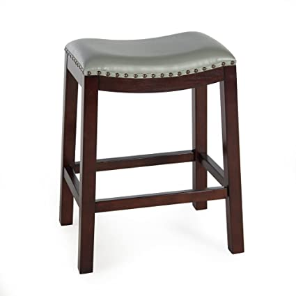 Peachy Counter Bar Stools Bistro Gray Backless Wood Chairs Pub Stool Kitchen And Dinningroom Seat Furniture Ibusinesslaw Wood Chair Design Ideas Ibusinesslaworg