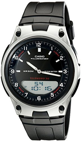 Casio Men's AW80-1AV Forester Ana-Digi Databank Watch