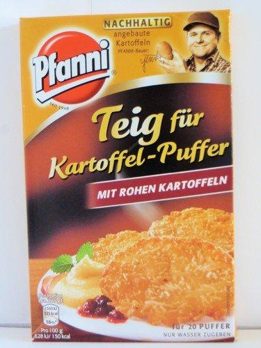 Pfanni Teig für Kartoffel-Puffer mit rohen Kartoffeln 20 pcs