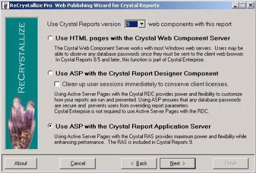 Amazon com: ReCrystallize Pro Web Publishing Wizard for