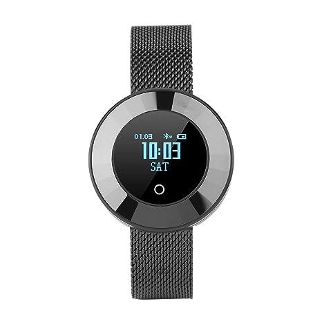 Vbestlife Elegante Pulsera Reloj Inteligente Bluetooth a Prueba de Agua Monitor de Presión Arterial/Oxígeno