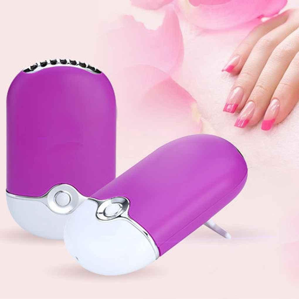 Mini Tragbare Nagel Trockner Hand Wimpern Trockner Schreibtisch Klimaanlage Befeuchtung Kühler Lüfter Nails Art & Werkzeuge Schönheit & Gesundheit