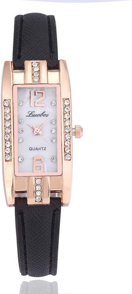 Reloj de Mujer Esfera pequeña con Diamantes Casual ...