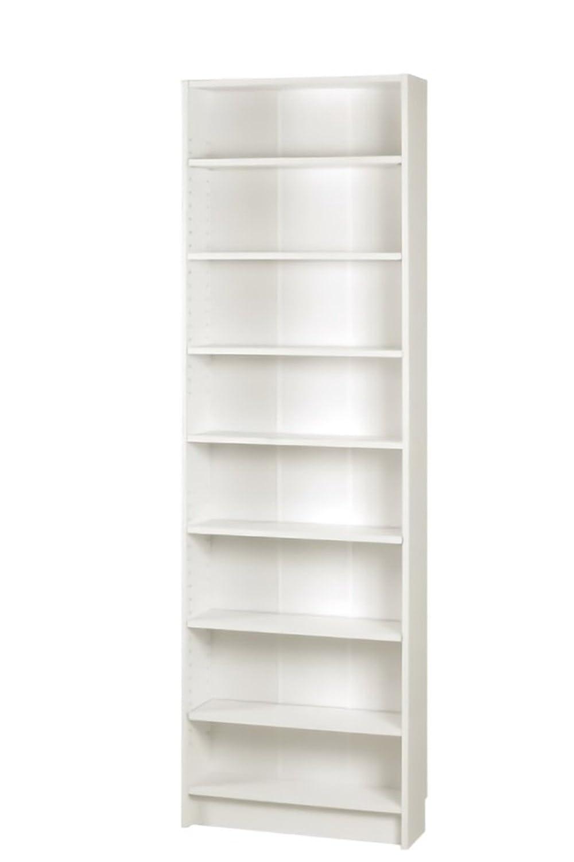 AHEART 木製スリムラック 8段 棚 隙間 壁面 収納 ラック SI 128 ホワイト 幅55.5cm B07BZGV1GJ 幅55.5cm|ホワイト ホワイト 幅55.5cm