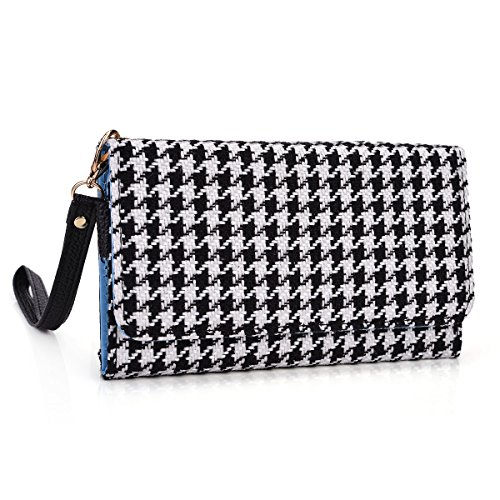 kroo-clutch-wristlet-wallet-case-for-smartphones-up-to-52-inch-non-retail-packaging-black-houndstoot