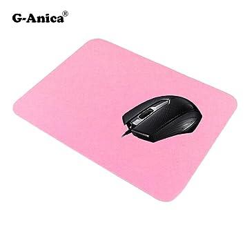 g-anica ® Ratón ergonómico, USB ratón óptico filaire3 botones rueda, ratón con