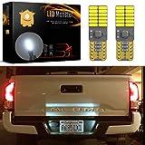 zr headlight cover - LED Monster 2x 168 194 T10 5SMD LED Bulbs Car License Plate Lights Lamp White 12V (24 SMD)