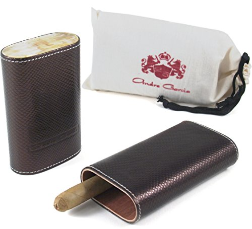 andre-garcia-limited-edition-brown-viper-leather-cedar-lined-telescopic-3-finger-cigar-case-with-fla