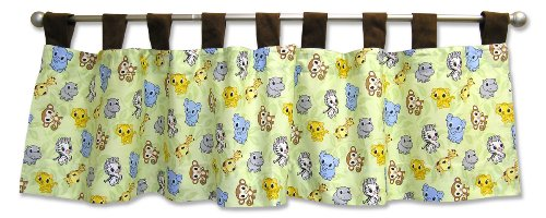 Trend Lab Window Valance, Chibi (Chibi Zoo)