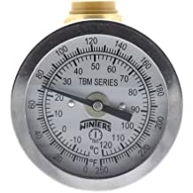 "SharkBite Temperature Gauge with 1/2"" Tee (Lead Free)"