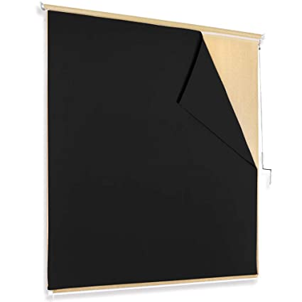 Amazon Com Ryb Home Blackout Roller Blinds Outdoor Curtain Drape