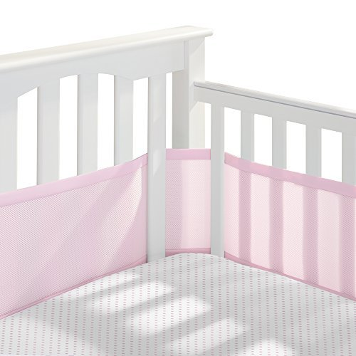 BreathableBaby 3 Piece Classic Crib Bedding Set Pink [並行輸入品]   B07J5KBBK1