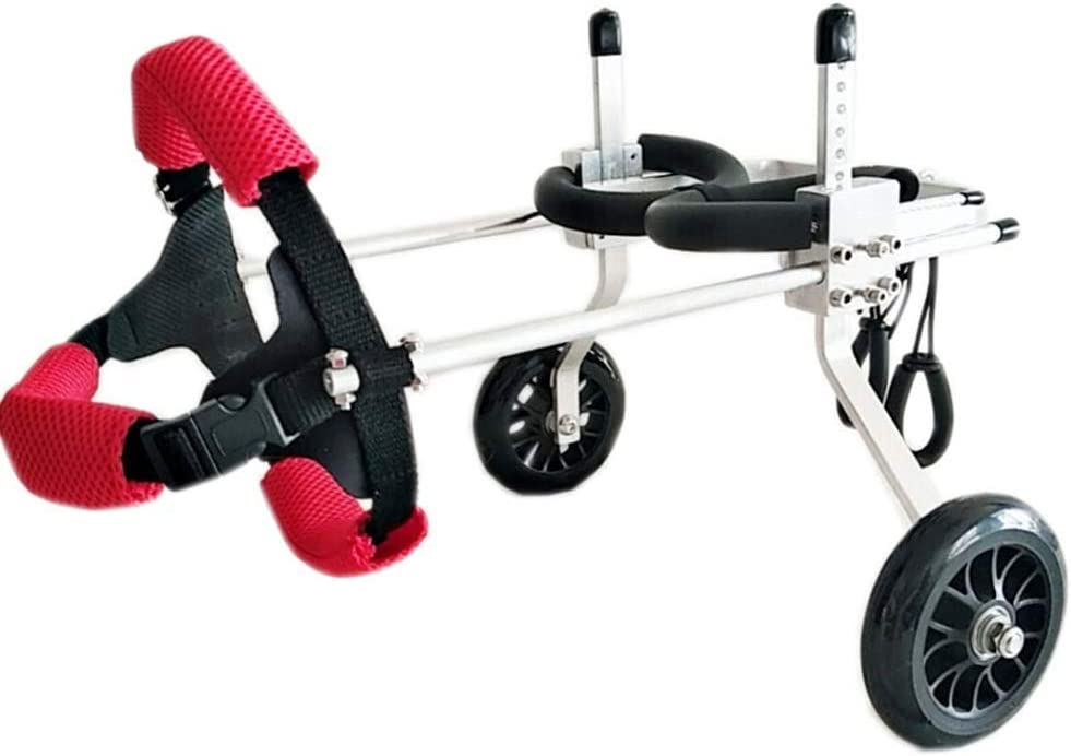 UOUM Mascota Mascota prótesis en Silla de Ruedas Perro extremidad Trasera discapacidad parálisis Scooter de Pata Trasera Ayudar Asiento de Seguridad para Mascotas,A,XL